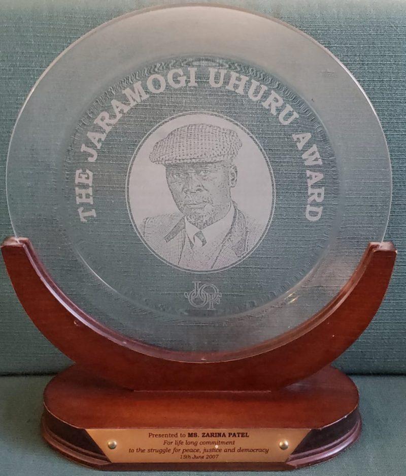 Awards Jaramogi Uhuru Award