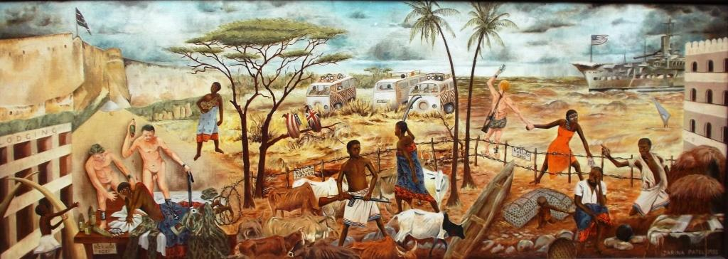 The Paintings Tourism - its negative effects